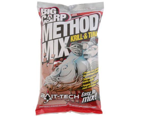 Bait-Tech Big Carp Krill & Tuna Method Mix 2kg