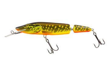 Fox Salmo Pike Jointed Deep Runner 13cm - Hot Pike