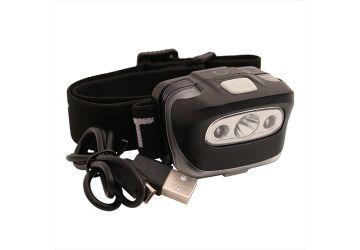 Gardner Head Torch Pulsar (Rechargeable USB)