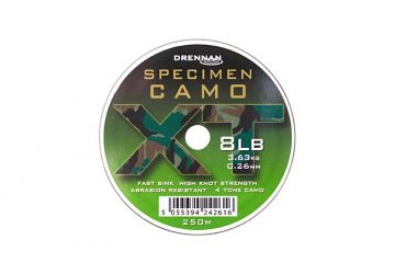 Drennan Specimen Camo XT Line 250m